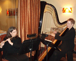 Dr. Marilyn Wienand, Harpist for wedding ceremonies, rehearsal dinners, corporate events and parties