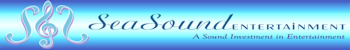 Logo for SeaSound Entertainment, premiere entertainment agency in North Carolina