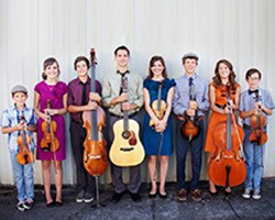 The Voetberg Family Band performs Irish, Scottish, American, Swing, Jazz and classical music
