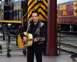 David Stone As Johnny Cash Image