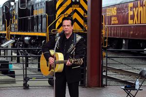 David Stone As Johnny Cash Image